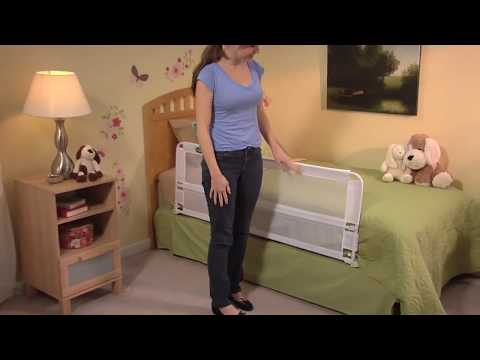 Regalo Hideaway Bed Rail Video