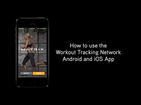 How To Use The Workout Tracking Network Android And IOS App
