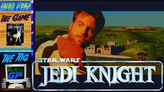 Star Wars JEDI KNIGHT (1997) Level 3, 3DFX Voodoo 2 - BAD FMV - Retro GP
