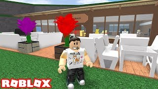 BUILDING MY OUTDOOR RESTAURANT IN ROBLOX RESTAURANT TYCOON