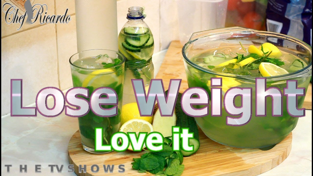 Lose Weight Fast With Lemon Ginger Weight Loss Detox Water Chef Ricardo Cooking
