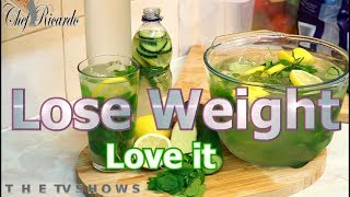 Lose Weight Fast with LEMON, GINGER Weight Loss Detox Water | Chef Ricardo Cooking