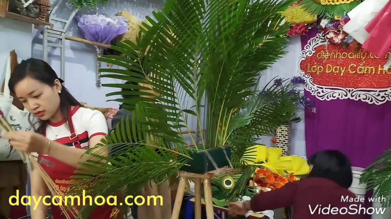 Hoa Khai Truong: Dạy Cắm Hoa Khai Trương. Trung Tâm Dạy Cắm Hoa Điện Hoa