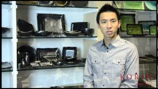 The Korin Product Show: Episode 31 - Tessa Black Tableware Collection