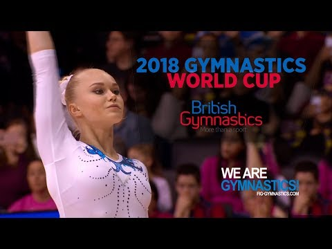 2018 Birmingham World Cup Highlights Women - Individual All-Around World Cup Series