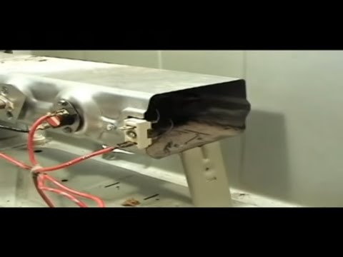 Whirlpool 27 inch electric dryer heating element - YouTube