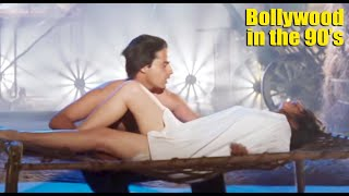 Twinkle Khanna and Karishma Kapoor Milky Thigh Showing Hot Compiled Video | 90's Actress Part-2