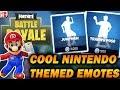 Nintendo Themed Fortnite EMOTES!!! Fortnite Switch Speculation (RTE3 Day 2)