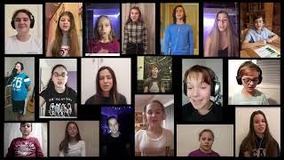 Dětský sbor Brno - Když víru máš   Children's Choir Brno - When You Believe (VIRTUAL CHOIR)