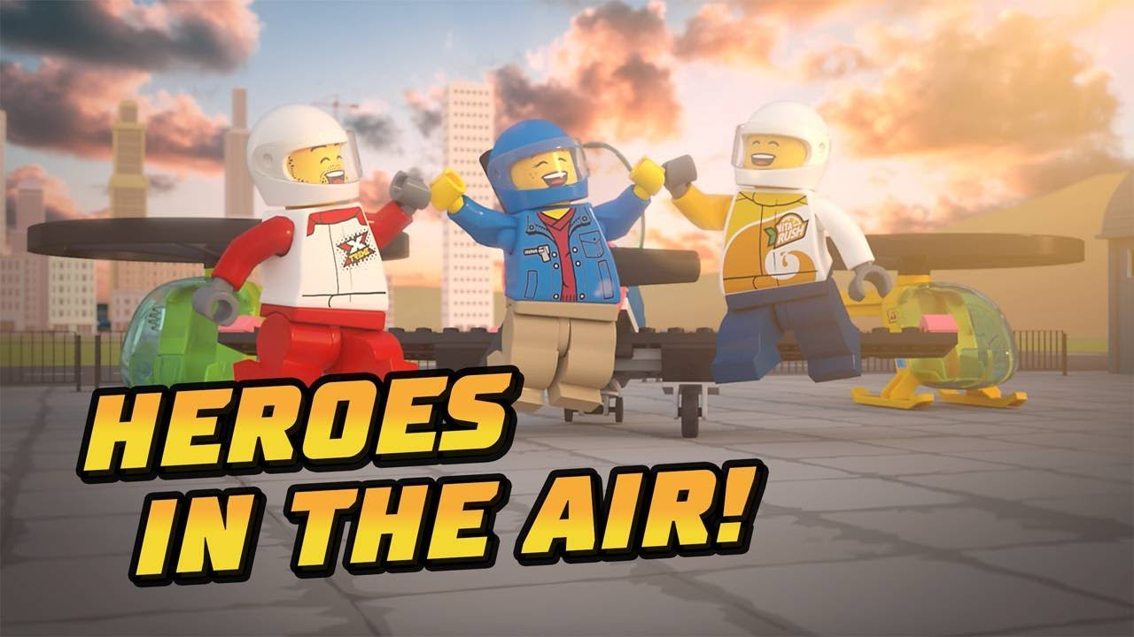 Heroes In The Air – A LEGO® City Airport Adventure!