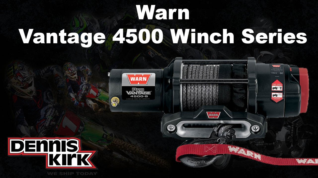 Warn Provantage 4500  U0026 4500-s Winch
