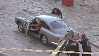 "Behind the Scenes of ""James Bond 007 - No Time To Die"": Bond's hotel arrival in Matera"