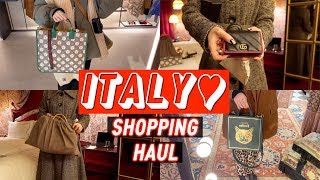 ENG) 이탈리아 쇼핑기 구찌 보테가 펜디 마르니 가방…