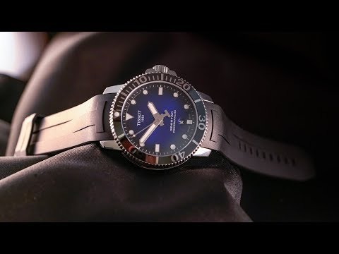 Is this the bestvalue Swiss diver of 2018? The Tissot Seastar 1000 Powermatic 80