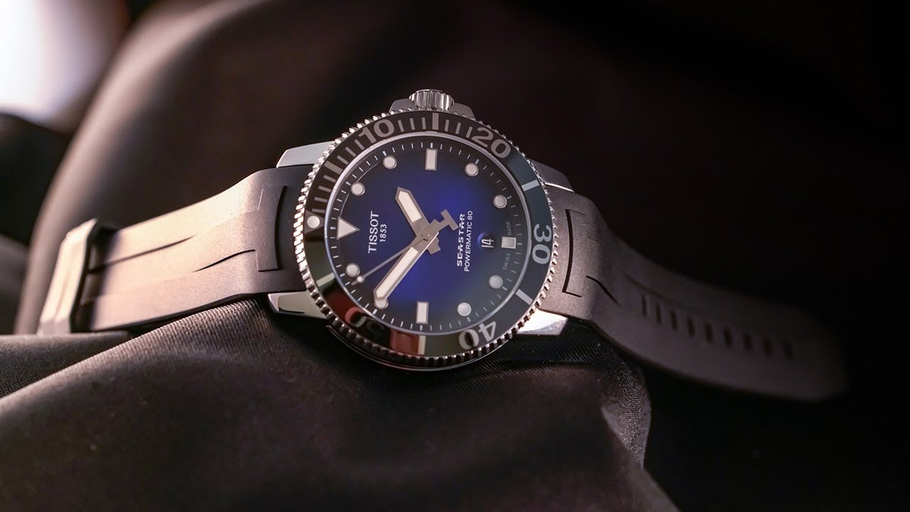 c07682e322 Is this the best-value Swiss diver of 2018  The Tissot Seastar 1000  Powermatic 80