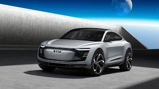 Audi e-tron Sportback concept 2019 - Interior and exterior