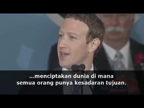 Pidato Inspiratif untuk Orang Muda dari Mark Zuckerberg. Wisuda Harvard 2017