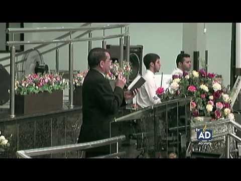 Culto de Doutrina no Templo Sede da AD...