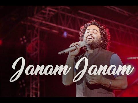 Arijit singh live HD | Janam Janam live | Dilwale