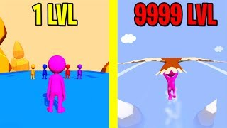 Fall Race 3D ALL LEVELS NEW GAME FALL RACE 3D WORLD RECORD