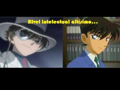 Shinichi Kudo y Kaito Kid (Kaito Kuroba) parecidos