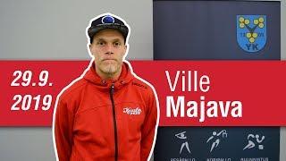 Haastattelussa Ville Majava