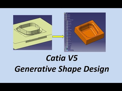 catia-v5.-generative-shape-design.-tutorial-en-español