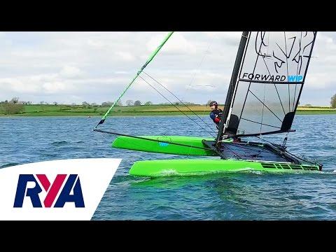 Catamaran Challenge - Musto Skiff Champion vs British Sailing Team - Outlaw Sailing S1 & S9