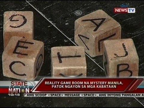 Reality game room na Mystery Manila, patok ngayon sa mga kabataan
