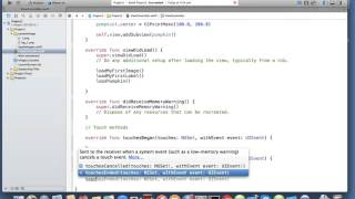 Gambar cover iOS Swift Touch Events | Nimap Infotech - Tutorial 17