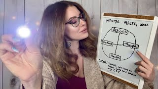 ASMR Cognitive Behavioral Therapy Session (Full)