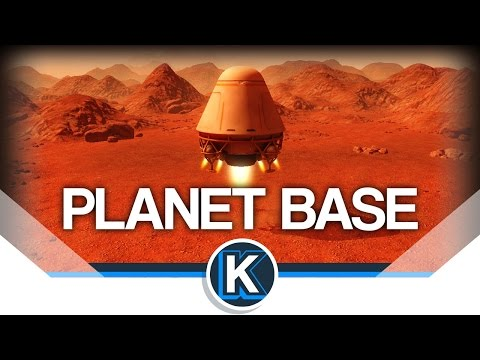 PlanetBase | Space Colony Builder! | Gameplay