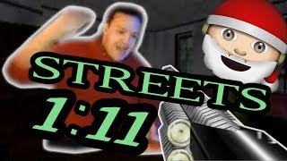 I GOT Streets Agent 1:11 !!! (WR Livestream Highlight) (Christmas miracle!) (No bubble)