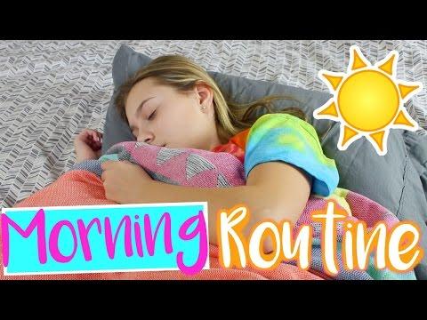 Winter Morning Routine 2017 | Sasha Morga