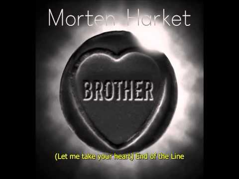 Morten Harket - End of the Line (Lyrics)