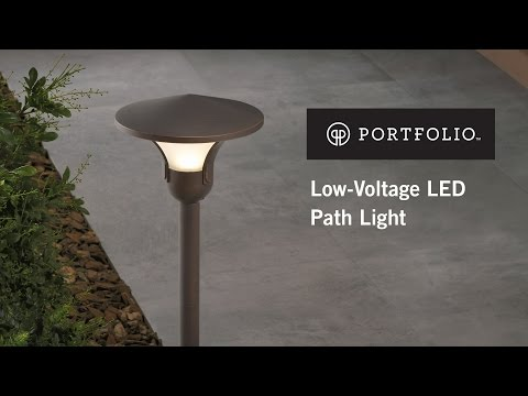 How To Install A Low Voltage Landscape Path Light From