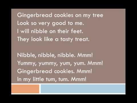Gingerbread Cookies PowerPoint