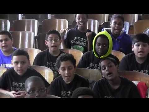 "PS22 Chorus ""Digital Witness"" St. Vincent"