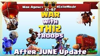 War Agency VS #ExileMode | TH12 War Recap #09 | Clash Of Clans | 2018 |