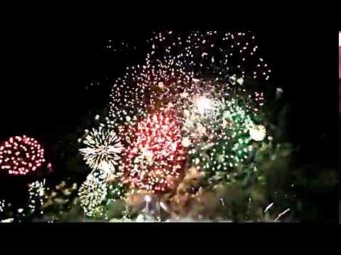 Martigues Fête Vénitienne 2009 feu d'artifice magnifique en musique