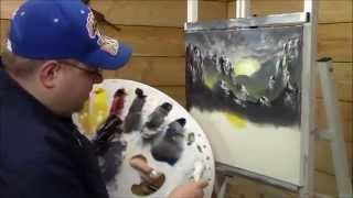 "Painting With Magic  ""Mountain Sunrise"" Season 2 ep 3"