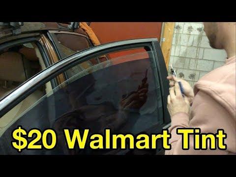 How Bad Is $20 Walmart Window Tint? (tutorial & review)