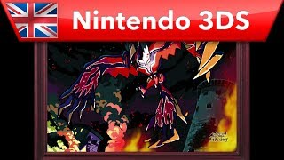 How to draw Yveltal - Pokemon Art Academy (Nintendo 3DS)