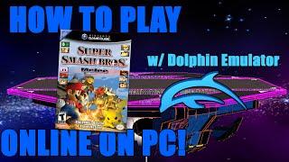 How To Play Super Smash Bros Melee ONLINE On Mac/PC!! (Dolphin Emu / Smashladder / Netplay)