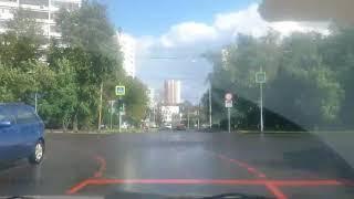 Пяловский маршрут Разворот на пересечении ул Селигерская Дмитровское шоссе