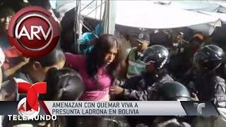 Atraparon a una mujer acusada de robar en varias tiendas | Al Rojo Vivo | Telemundo