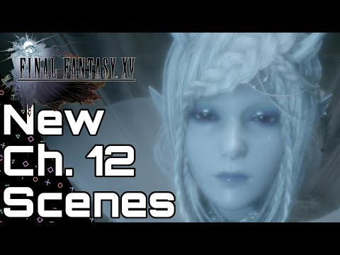 Final Fantasy XV - NEW War of the Astrals & Lunafreya Cutscenes 1.16
