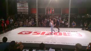 Bgirl Eddie and Bgirl Terra (Soul Mavericks) vs???? Semi Final Euro Battle