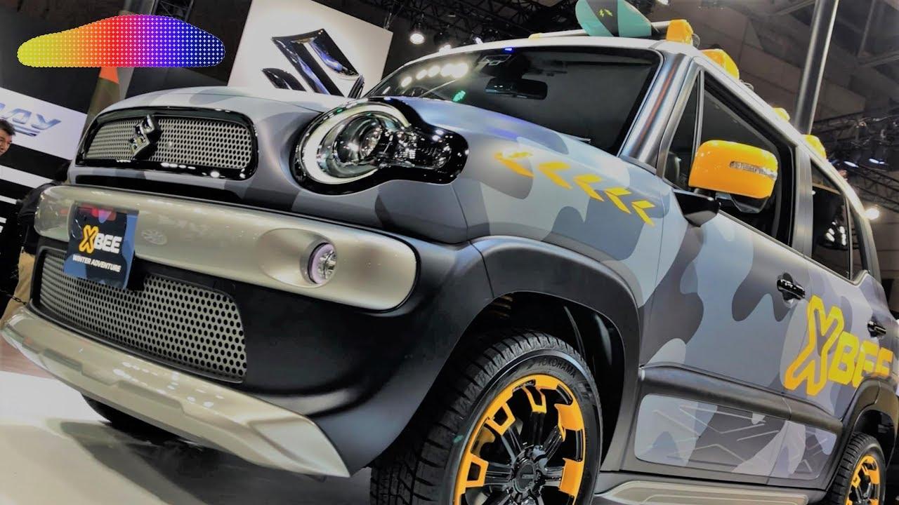 suzuki xbee hybrid street adventure mz 4x4 winter adventure tokyo auto salon 2018 youtube. Black Bedroom Furniture Sets. Home Design Ideas