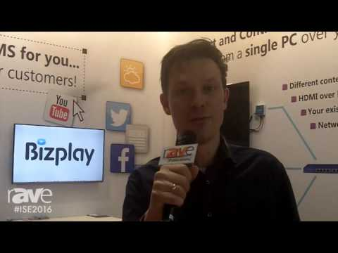 ISE 2016: Bizplay Describes Digital Signage Content Management System for End Users